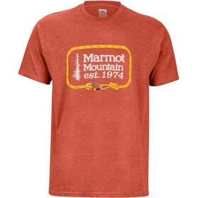 Marmot Ascender SS Tee Men, picante heather
